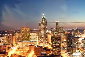 Atlanta, location of the Atlanta public speaking training class