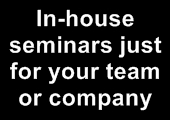In-house presentation skills training courses
